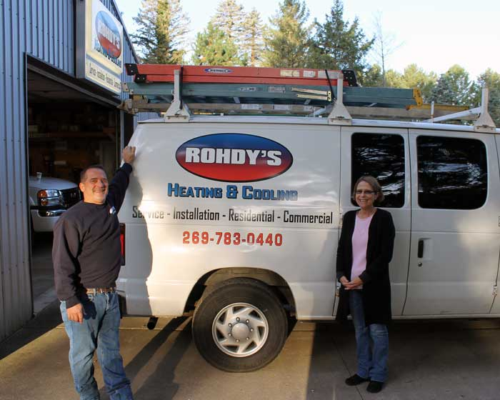 Image of owners Chris and Paula Rohdy